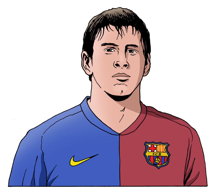 Messi Comic